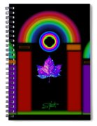 Classical Neon Spiral Notebook
