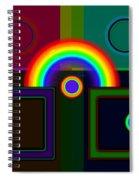 Classical Rainbow Spiral Notebook
