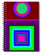 Classical Violet Spiral Notebook