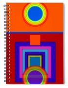 Classical Wheels Spiral Notebook