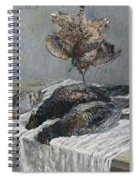 Claude Monet 1840 - 1926 Pheasant, Woodcock And Partridge Spiral Notebook
