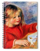 Claude Renoir At Play Sun 1905 Spiral Notebook