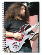 Claudio Sanchez Of Coheed And Cambria 2 Spiral Notebook