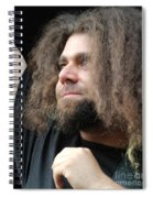 Claudio Sanchez Of Coheed And Cambria Spiral Notebook