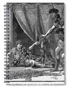 Claudius And Guards Spiral Notebook