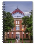 Clay County Courthouse Spiral Notebook