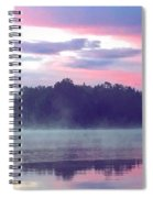 Clay Lake Sunrise Spiral Notebook