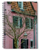 Clay Tile Roof In Charleston Spiral Notebook