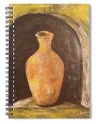 Clay Vase Spiral Notebook