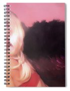 Clays Fallen Angel Series No 4 Spiral Notebook