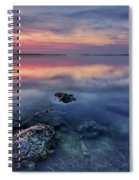 Clear Blue Morning Spiral Notebook