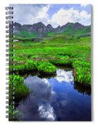 Clear Lake Reflections Spiral Notebook