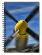 Clear Prop Spiral Notebook