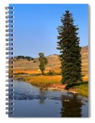 Clear Skies Over Slough Creek Spiral Notebook