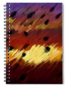 Clear Strokes Spiral Notebook
