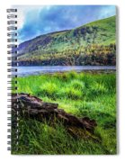 Clear Waters Of Glendalough Spiral Notebook
