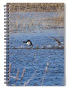 Cleared For Takeoff-ring-necked Ducks  Spiral Notebook