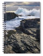 Clearing Storm At Bald Head Cliff Spiral Notebook