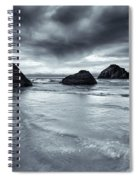 Clearing Storm Spiral Notebook