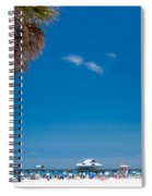 Clearwater Beach Spiral Notebook