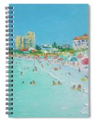 Clearwater Beach Florida Spiral Notebook