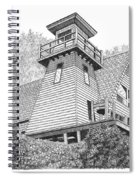 Cleft Of The Rock Lighthouse Spiral Notebook
