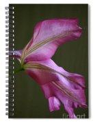 Clematis Breeze Spiral Notebook