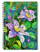Clematis For Elsie Spiral Notebook