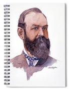 Clement Cornwall Portrait Spiral Notebook