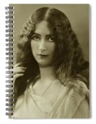 Cleo De Merode Spiral Notebook