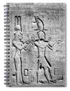 Cleopatra And Caesarion, Temple Spiral Notebook