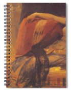 Cleopatra Preparatory Study For Cleopatra Testing Poisons On The Condemned Prisoners Spiral Notebook