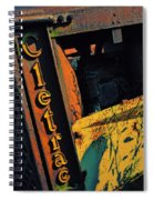 Cletrac Crawler Tractor Spiral Notebook