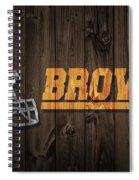 Cleveland Browns Barn Door Spiral Notebook