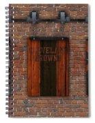 Cleveland Browns Brick Wall Spiral Notebook