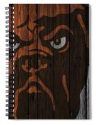 Cleveland Browns Wood Fence Spiral Notebook