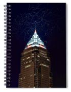 Cleveland Key Building With Electricity Spiral Notebook