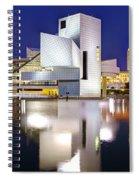 Cleveland Skyline At Dusk Spiral Notebook