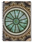Cleveland Trust Rotunda Building Ceiling Spiral Notebook