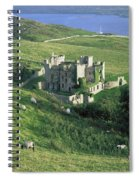 Clifden Castle, Co Galway, Ireland 19th Spiral Notebook