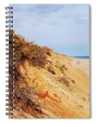 Cliff At Marconi Beach Spiral Notebook