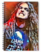 Cliff Burton Portrait Spiral Notebook