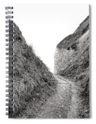 Cliff Cleavage Spiral Notebook