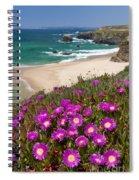 Cliff Flowers Spiral Notebook