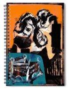Cliff Master Bed 3 - Digital Version Spiral Notebook