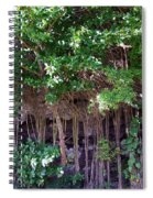 Cliff Side North Shore Kauai Hawaii Spiral Notebook