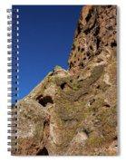 Cliffs At Bandelier Spiral Notebook
