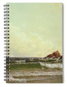 Cliffs At Cape Elizabeth Spiral Notebook