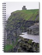 Cliffs Of Moher Ireland Spiral Notebook