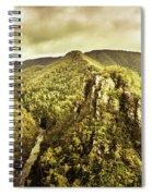 Cliffs, Steams And Valleys Spiral Notebook